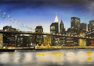 Brooklyn Bridge canvas commission
