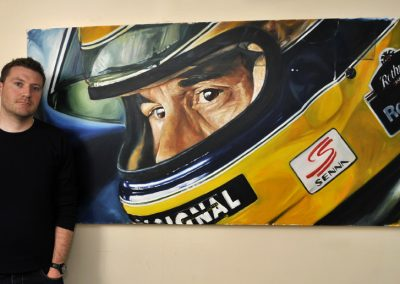 Senna - 20 years oil on canvas